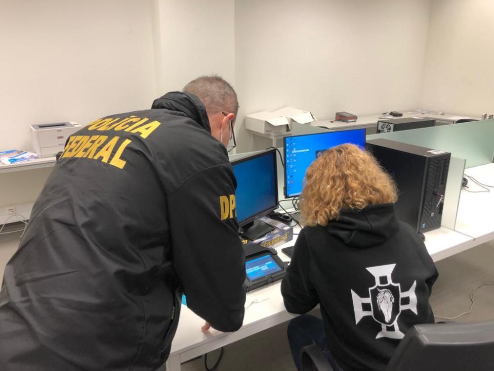PF e polícia portuguesa prendem hacker suspeito