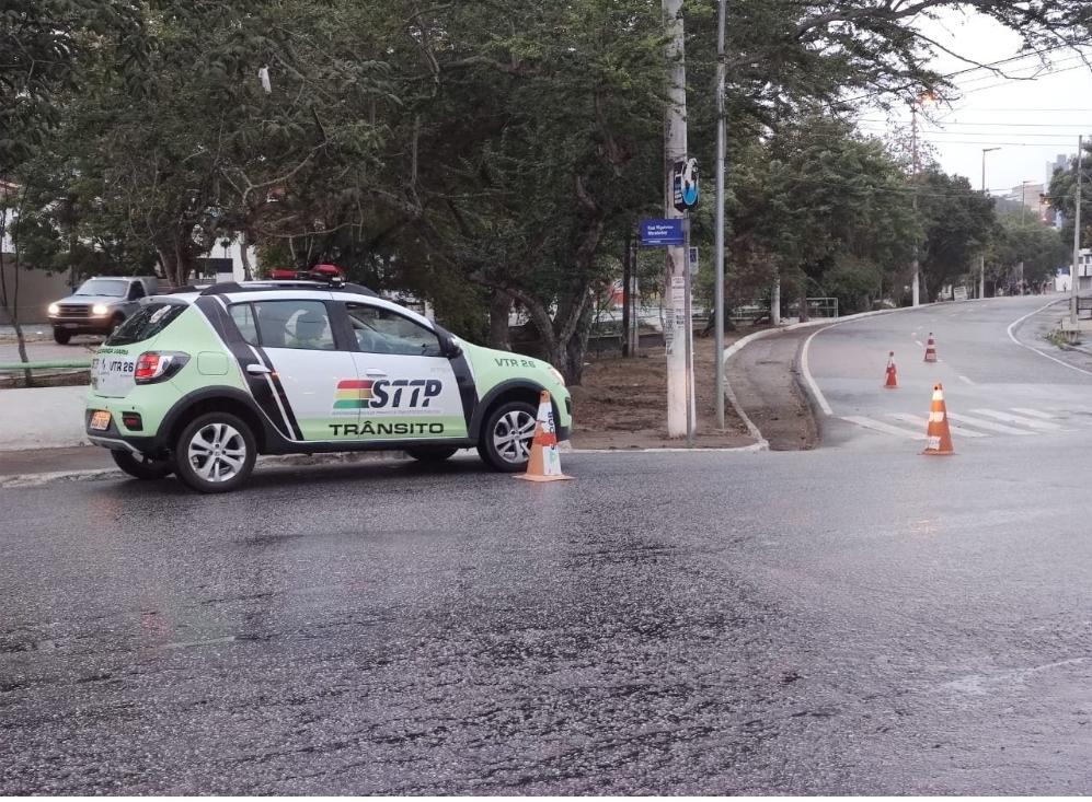 STTP volta a interditar parcialmente avenidas da cidade para prática de caminhadas