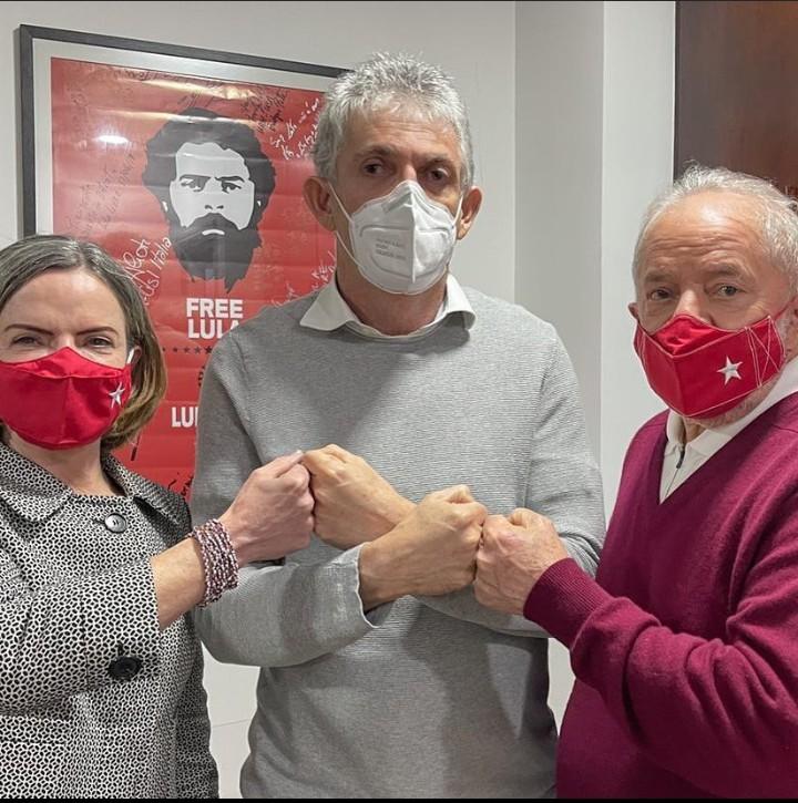 Lula, Dilma e Haddad participam de cerimônia de filiação de Ricardo Coutinho ao PT
